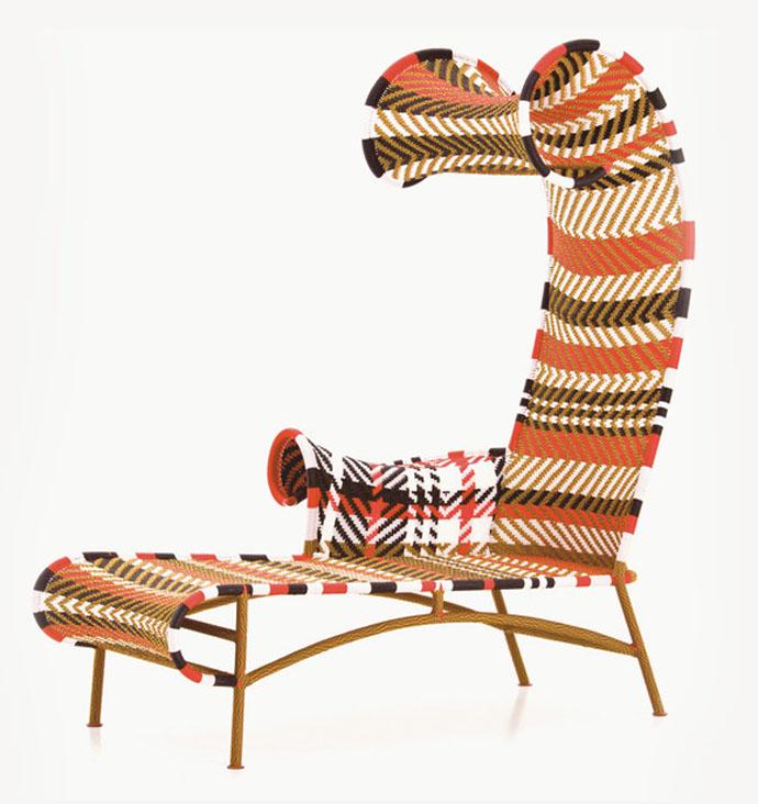 Шезлонг Shadowy, дизайн Торда Бонтье для Moroso, www.moroso.it
