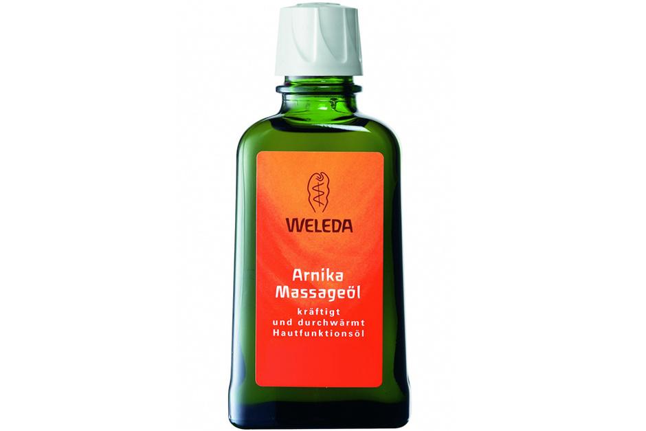 Массажное масло с арникой от Weleda