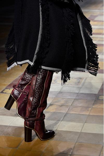 Показ Lanvin на неделе моды в Париже | галерея [1] фото [4]