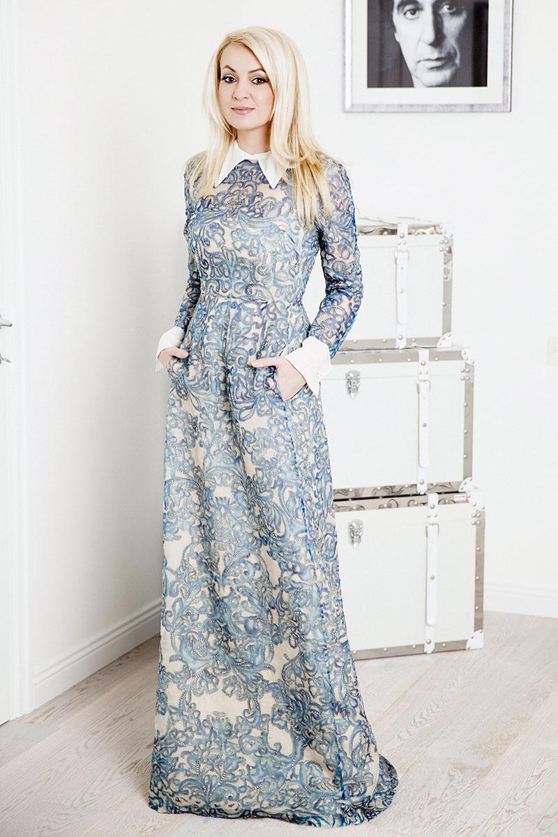 Платье, Valentino, осень — зима 2013/14