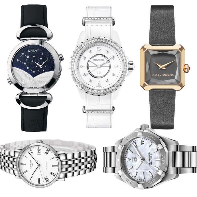 Korloff, Сhanel, Dolce & Gabbana, Longines и TAG Heuer