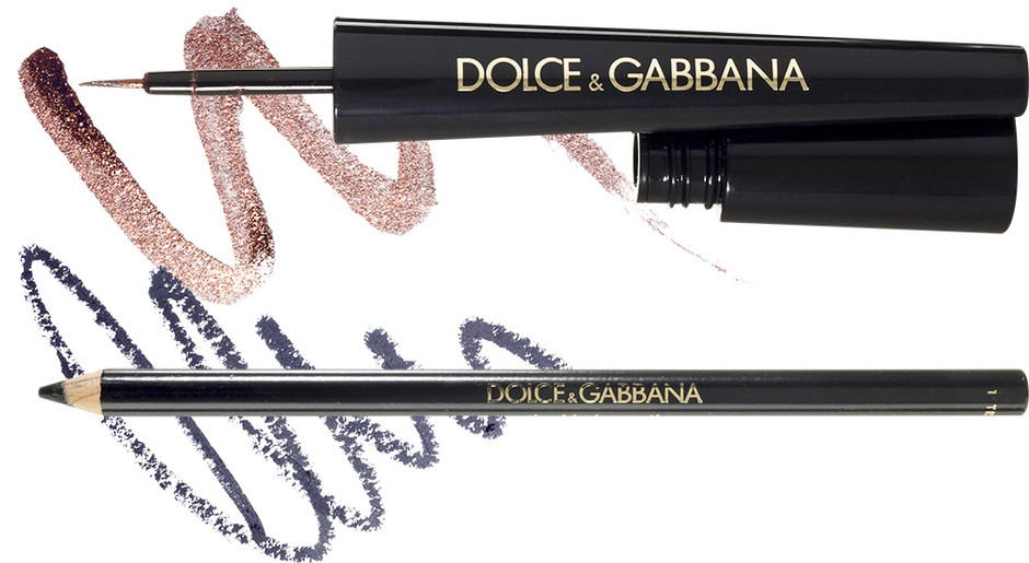Подводка для век Glam Liner, 2; Карандаш для век The Khol Pencil, 1, Dolce & Gabbana