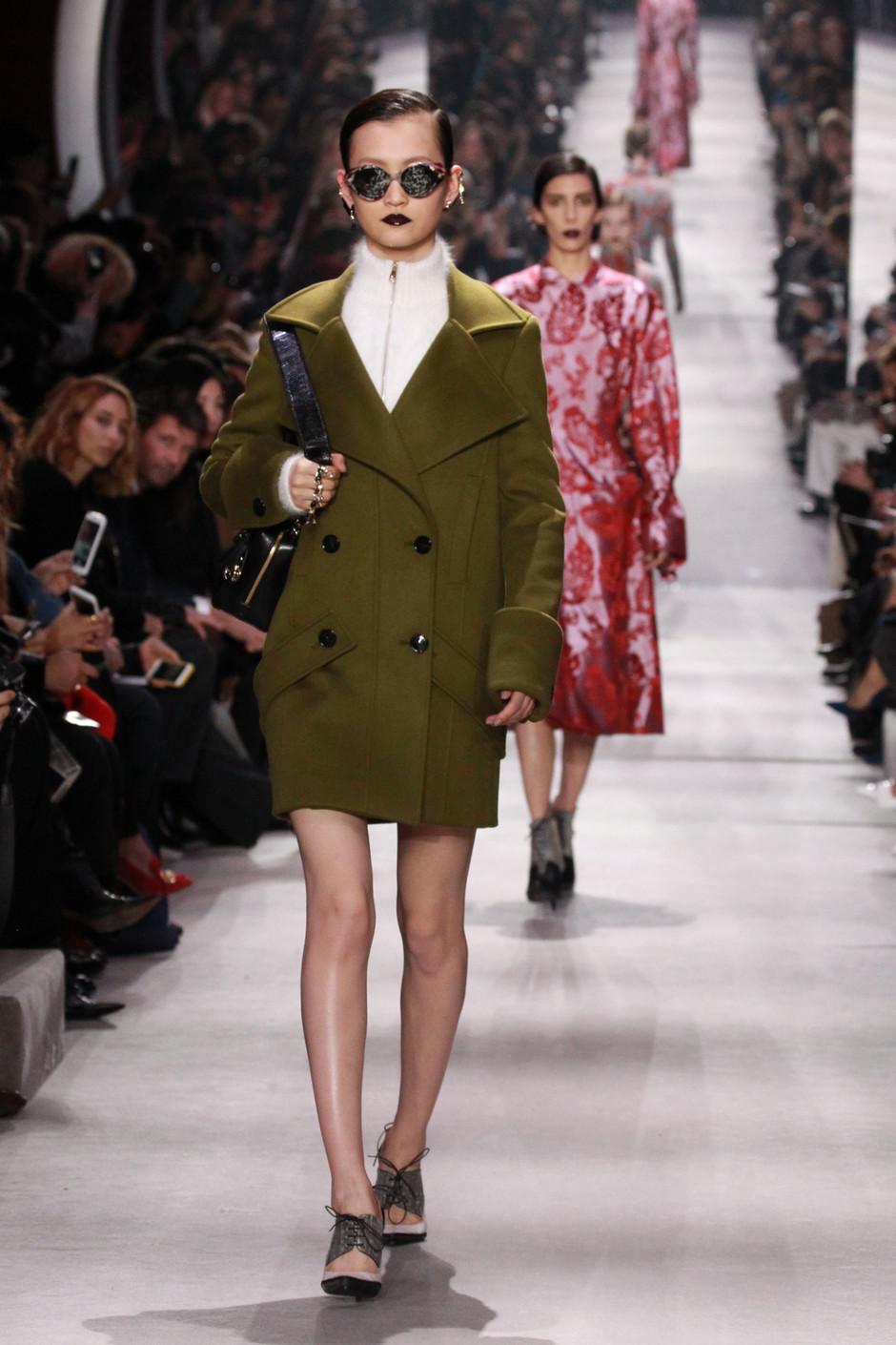 Christian Dior, осень-зима 2016