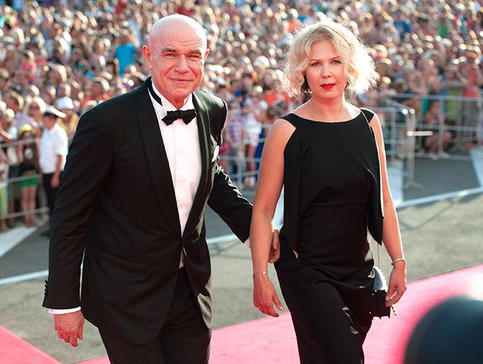 Сергей Мазаев с супругой