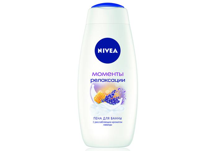 Пена для ванны «Моменты релаксации» от Nivea