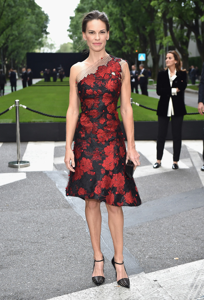 Хилари Суонк: фото 2015