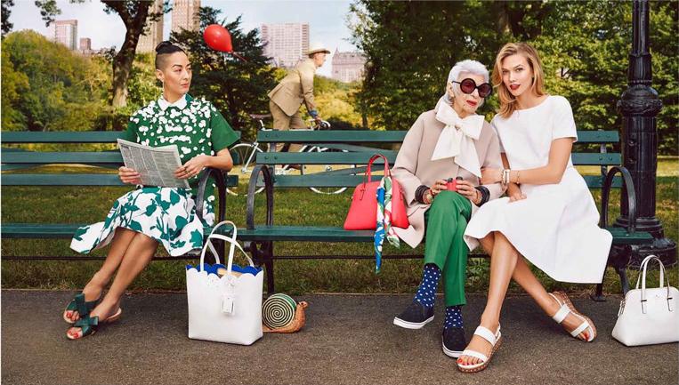 Рекламная кампания Kate Spade весна-лето 2015