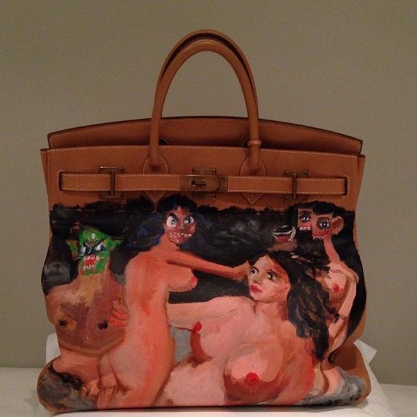 сумка Hermés Ким Кардашьян
