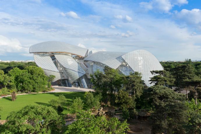 Культурный центр Louis Vuitton