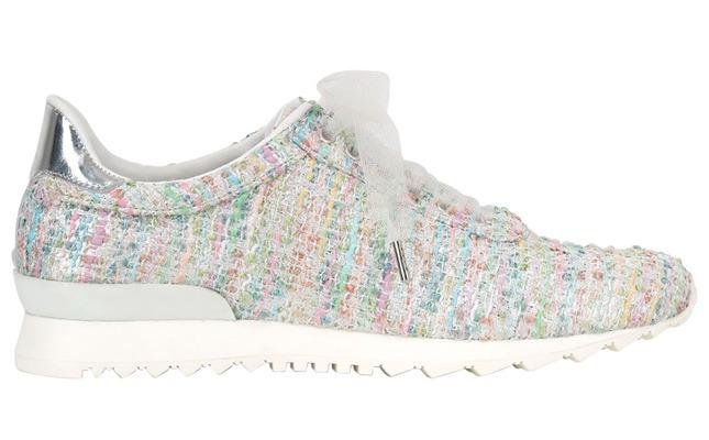 Обувь на лето 2014: легкие кроссовки в пастельных оттенках