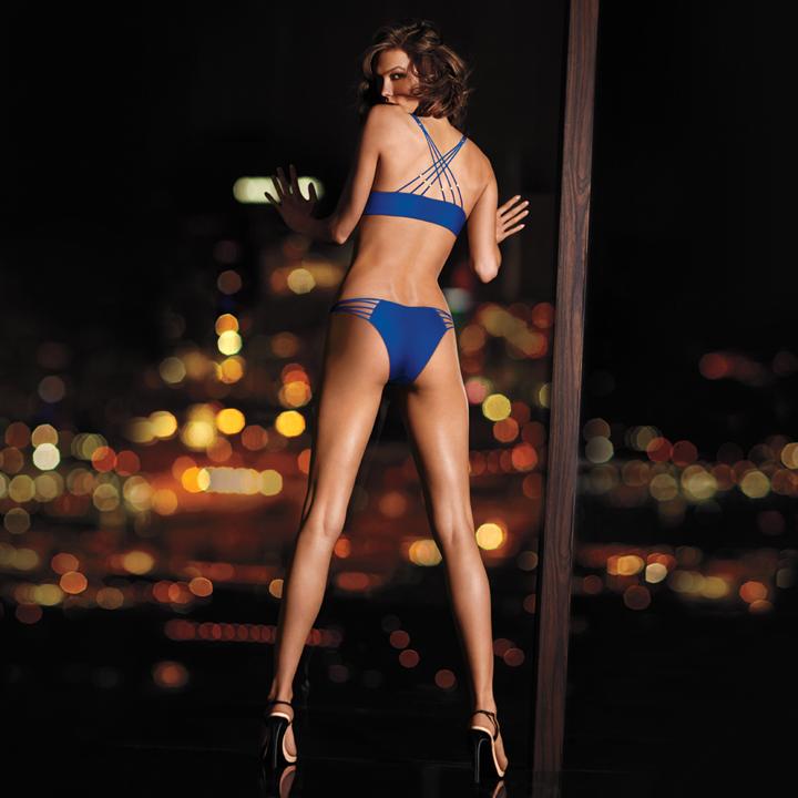 Синий купальник Victoria's Secret