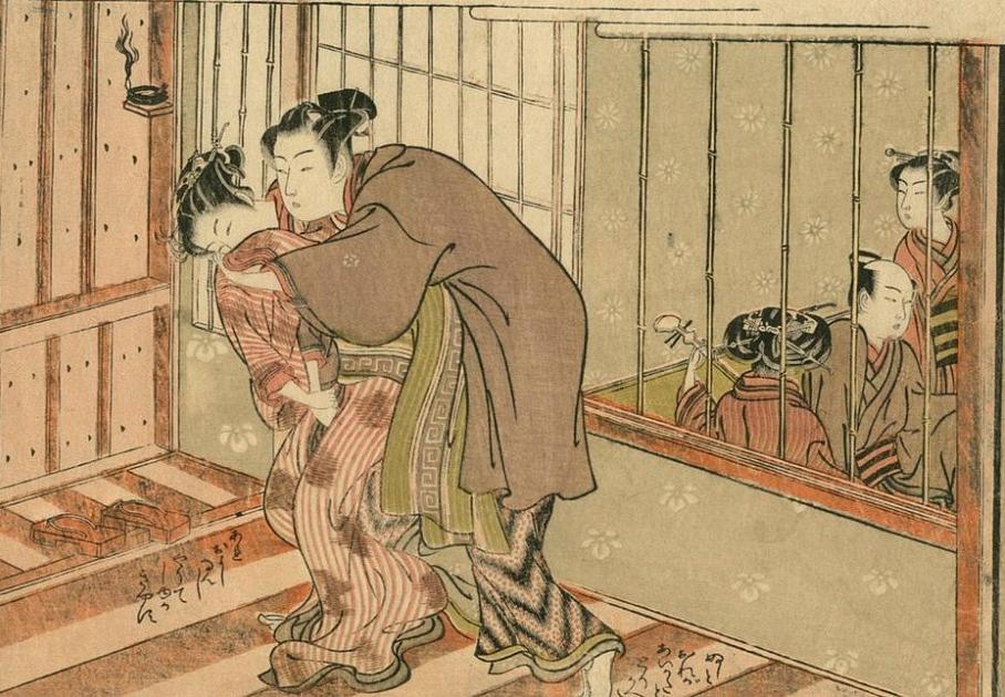 Сюнга. Эротизм в японском искусстве