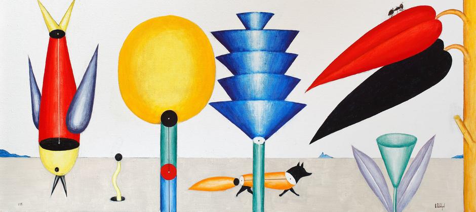 В «Гараже» открывается выставка Виктора Пивоварова