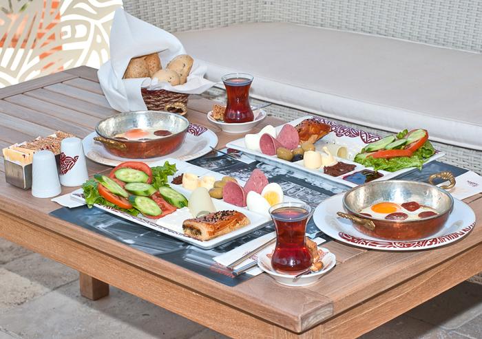 завтраки разных стран Турция
