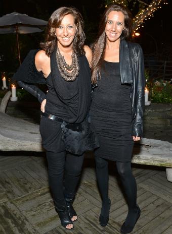 Донна Каран с дочерью Габби