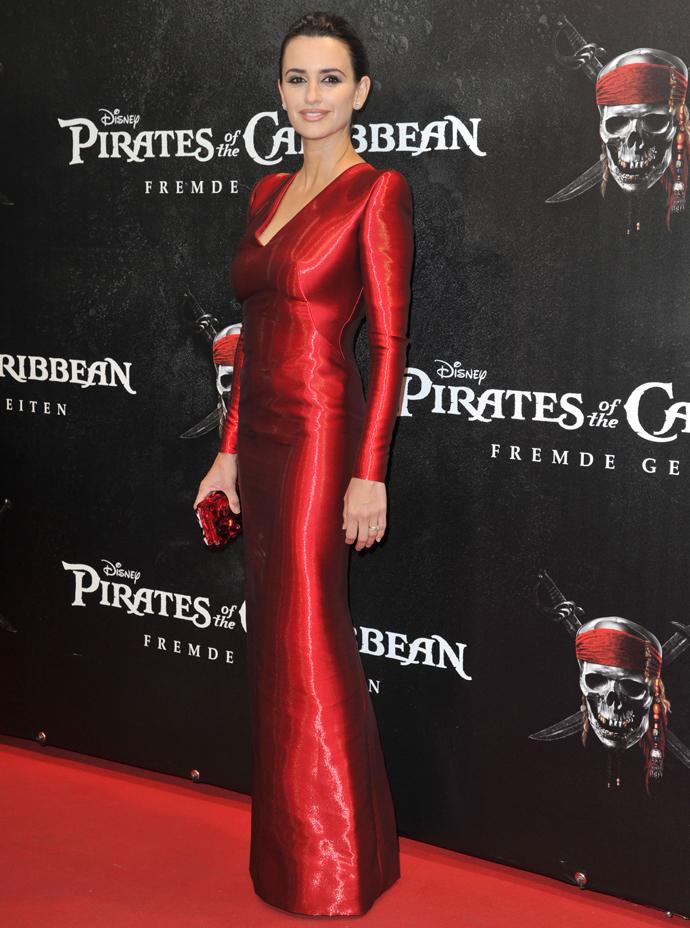Пенелопа Круз, премьера фильма «Пираты Карибского моря: На странных берегах» в Мюнхене, 2011