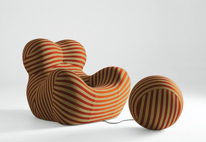 B&B Italia, Гаэтано Пеше, дизайн, 1960-е, Up