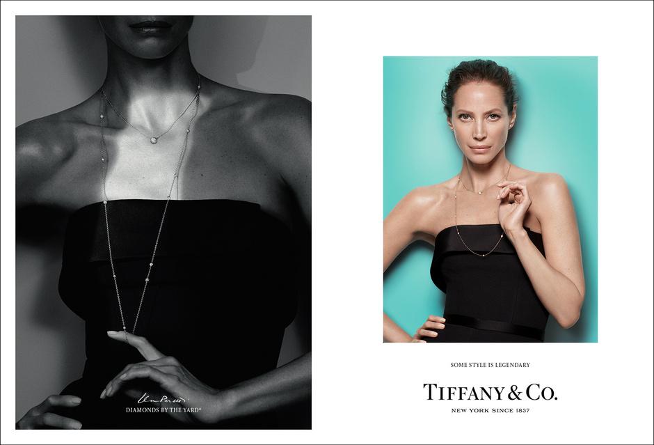 Эль Фаннинг, Кристи Тарлингтон и Люпита Нионго в рекламной кампании Tiffany & Co.