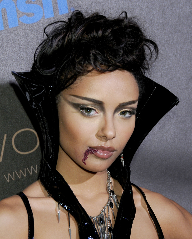 макияж вампира на хэллоуин