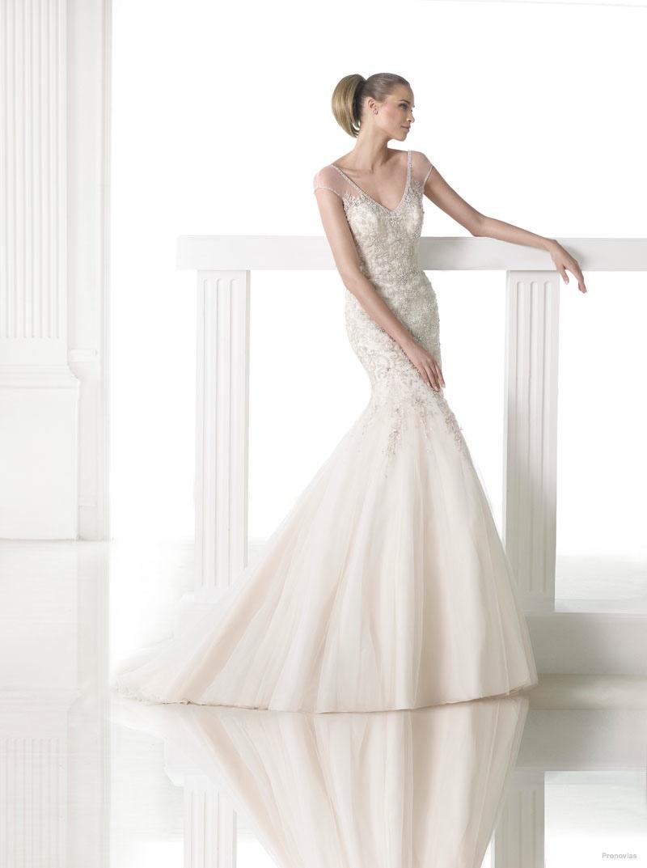 Белое свадебное платье: фото