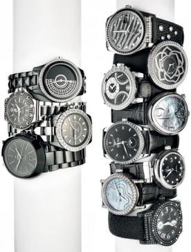 Часы: ставим  на черное