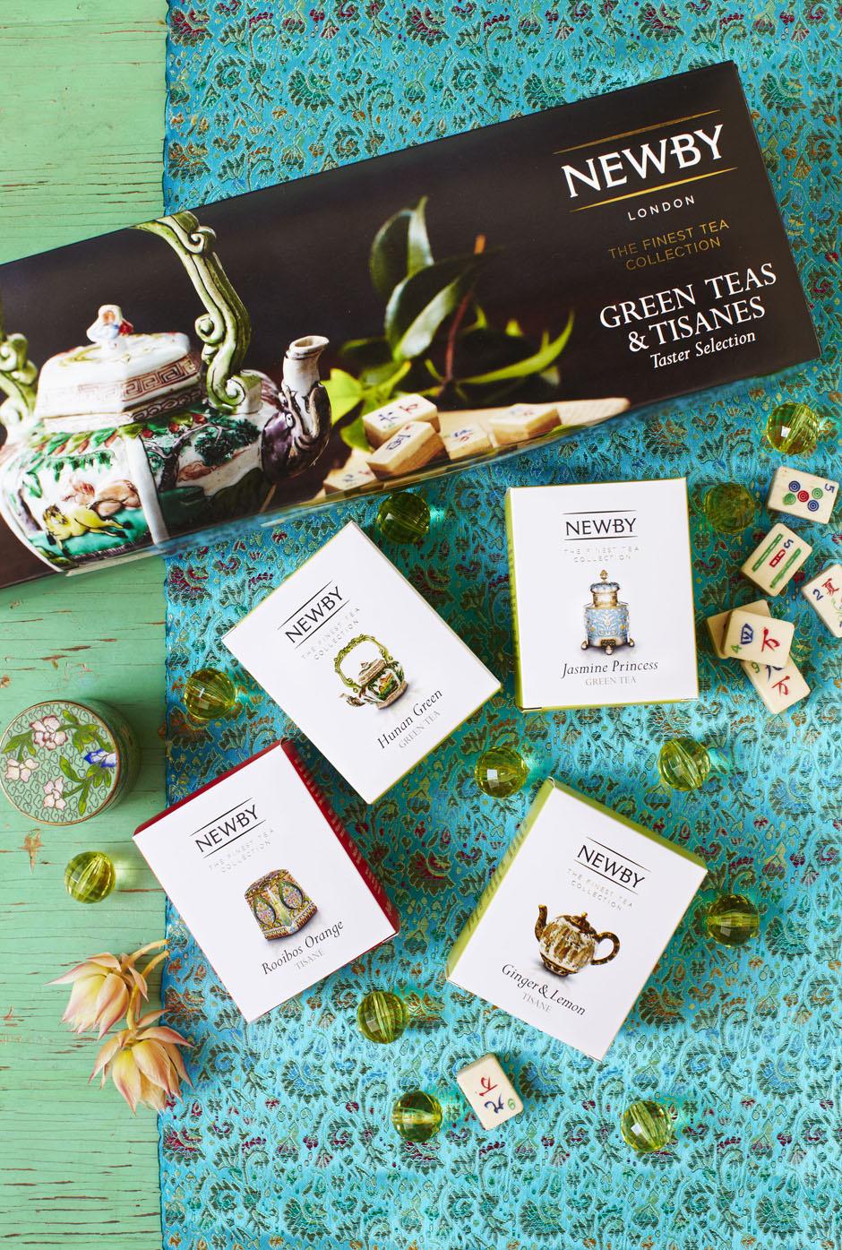 Все сорта премиального чая в новом бутике Newby