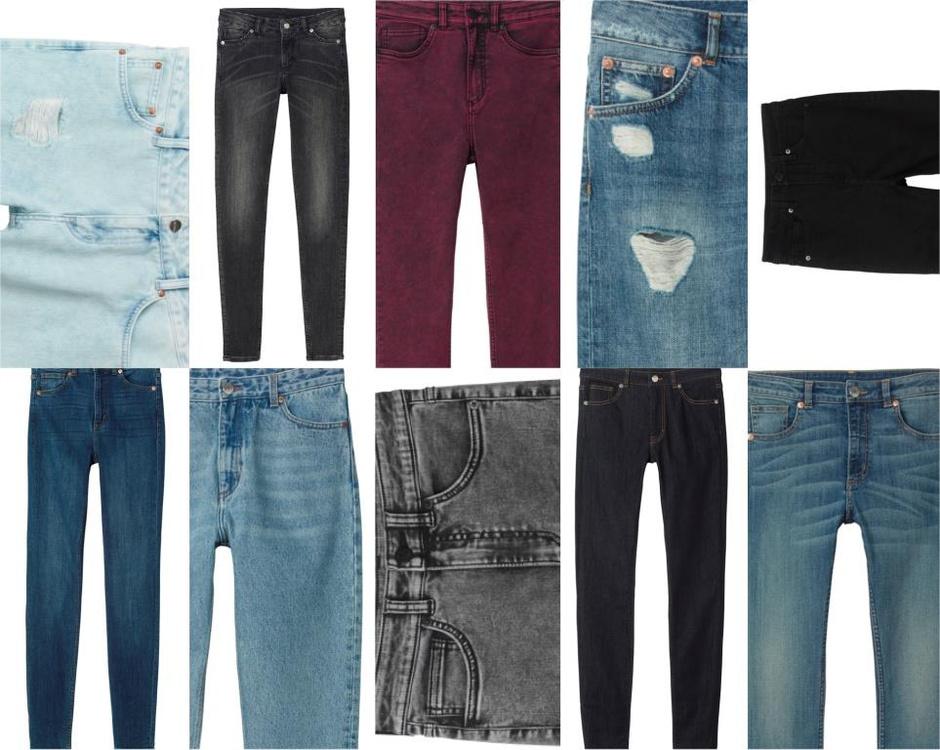 Бренд Monki представил уникальную коллекцию джинсов