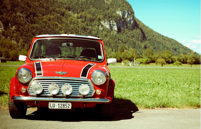 Austin Mini Cooper — «Идентификация Борна»