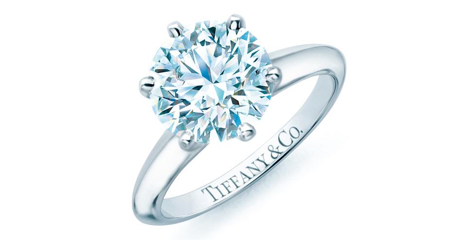 Кольцо для помолвки Tiffany Setting