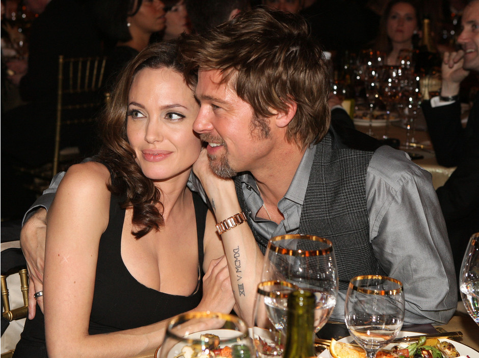 Анджелина Джоли и Брэд Питт, 2008 год