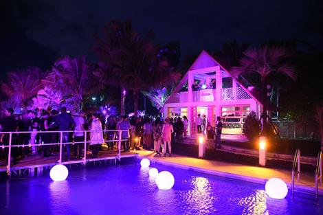 Гости вечеринки Moschino Party with Barbie в Майями