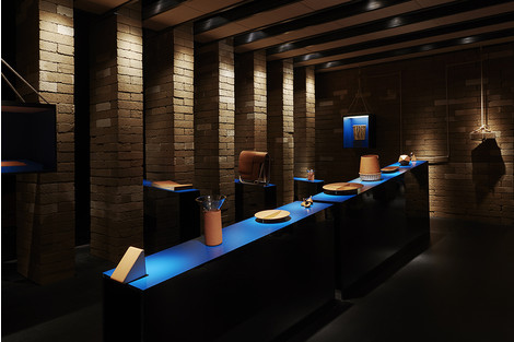 Презентация новой коллекции Hermès на выставке iSaloni в Милане | галерея [1] фото [3]