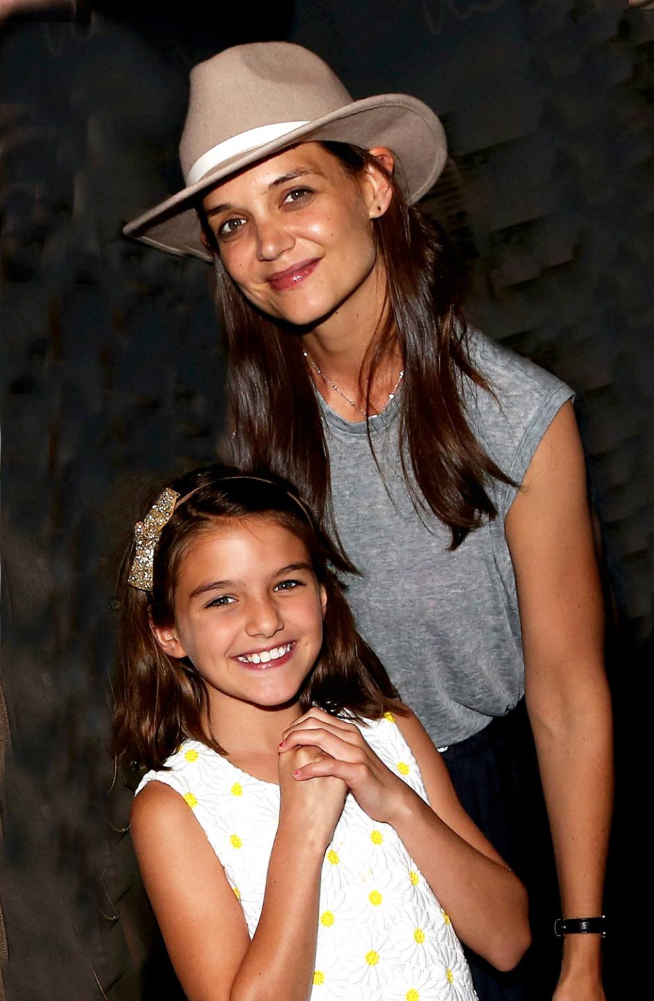 Кэти Холмс и дочь Сури