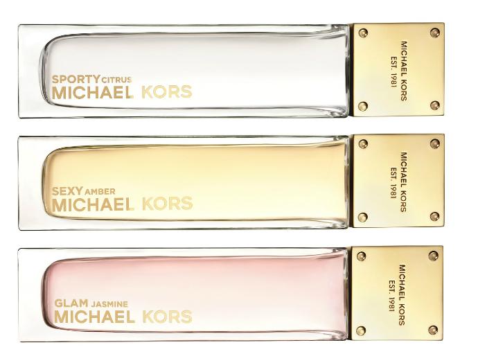 Ароматы Sporty, Sexy и Glam от Michael Kors