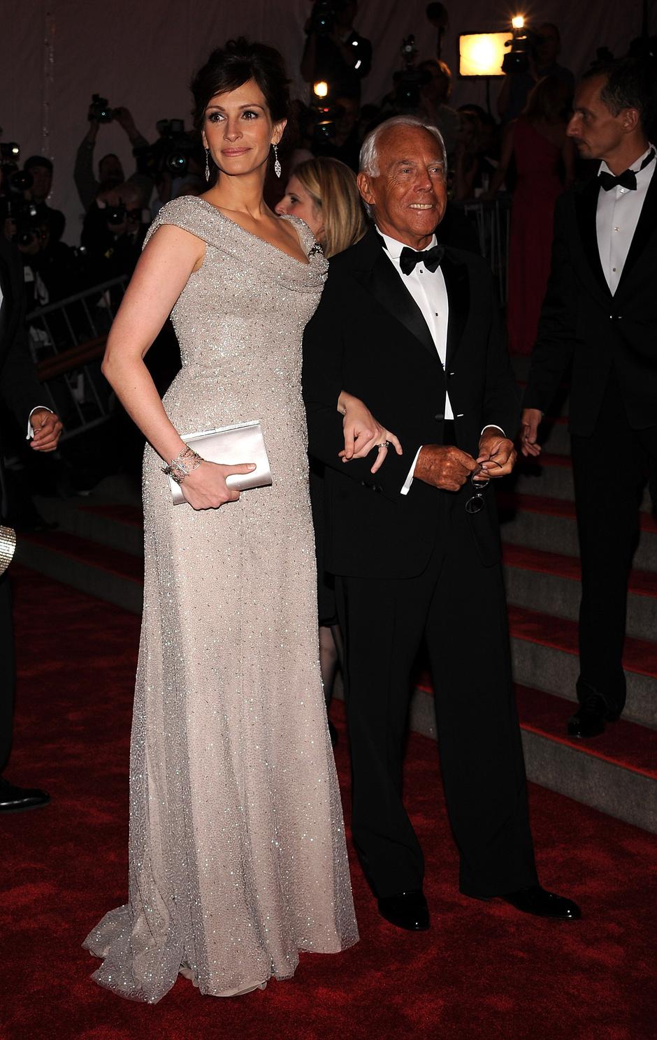 Джулия Робертс и Джорджо Армани, 2008 год