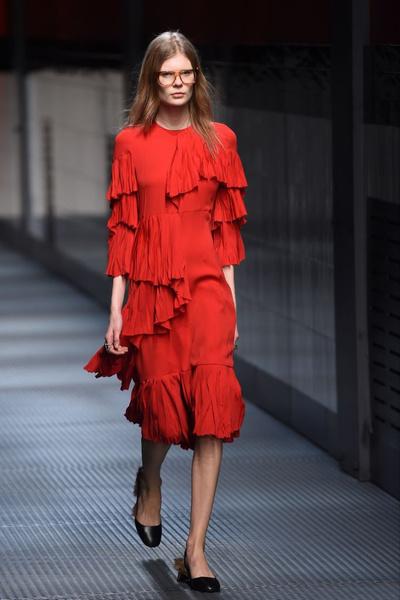 Показ Gucci на Неделе моды в Милане | галерея [1] фото [21]
