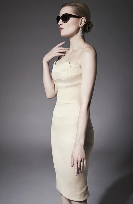 Корсетное платье от Zac Posen