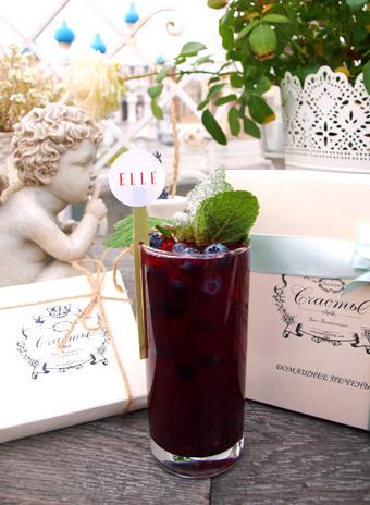 ELLE-cocktail в «Счастье»