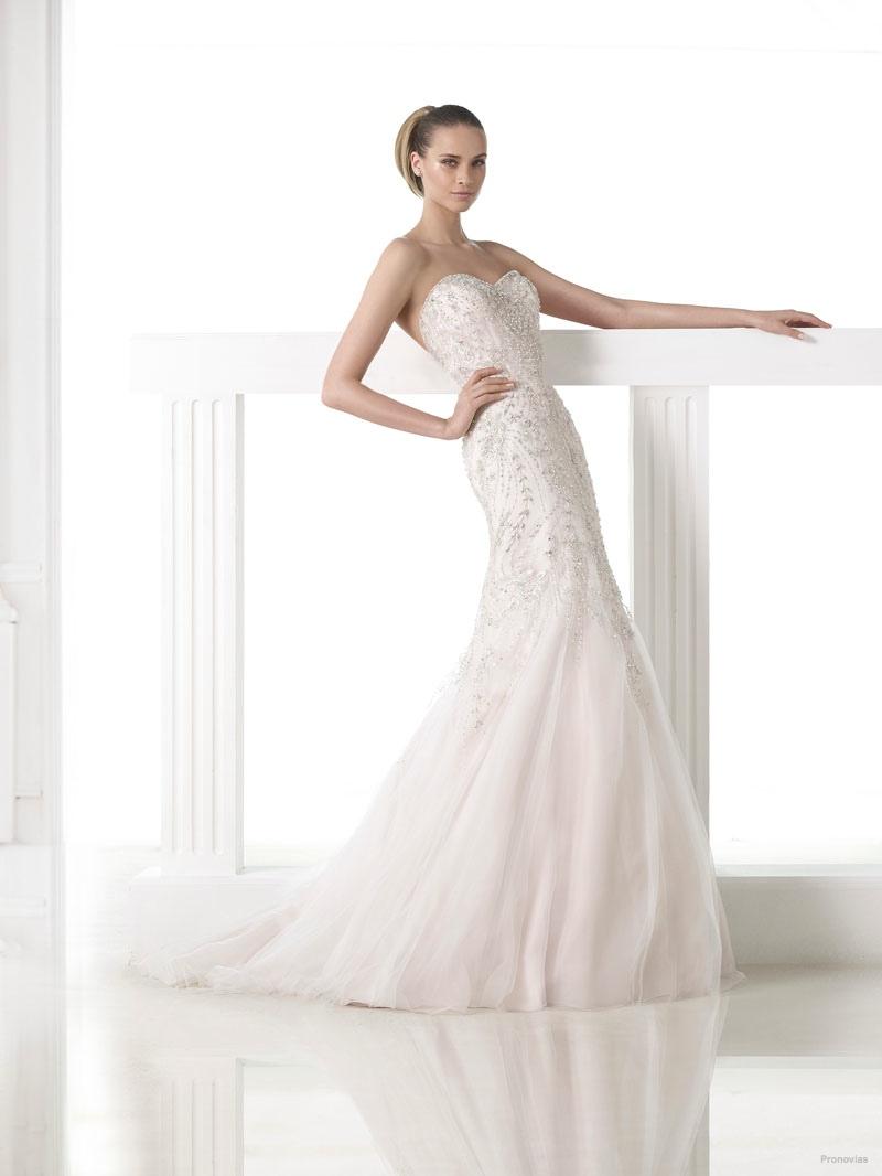 Красивые свадебные платья: фото 2014