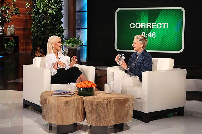 Кристина Агилера на The Ellen Show