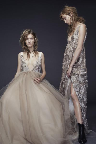 Новая свадебная коллекция Vera Wang была представлена в Нью-Йорке