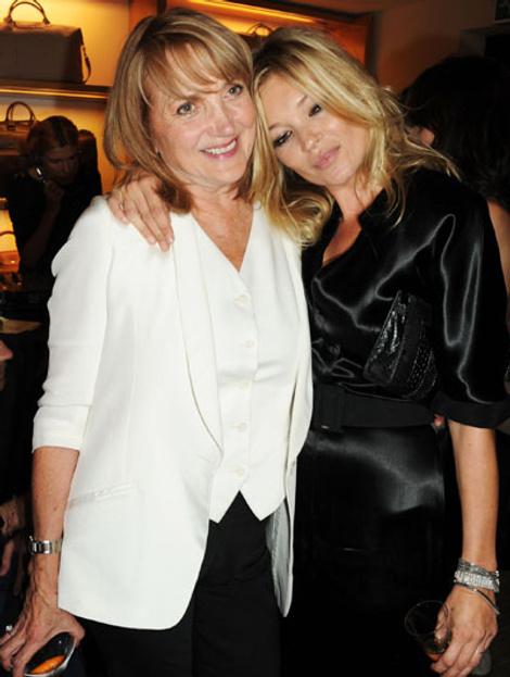 Кейт Мосс с мамой