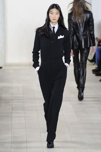 Показ Ralph Lauren на Неделе моды в Нью-Йорке | галерея [1] фото [12]