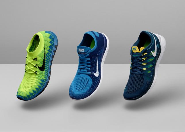 Nike представил новую линейку кроссовок Nike Free 2014