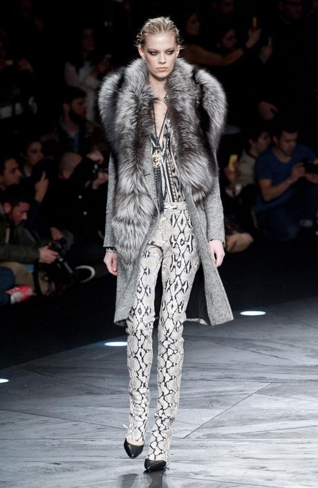 Показ Roberto Cavalli на Неделе моды в Милане