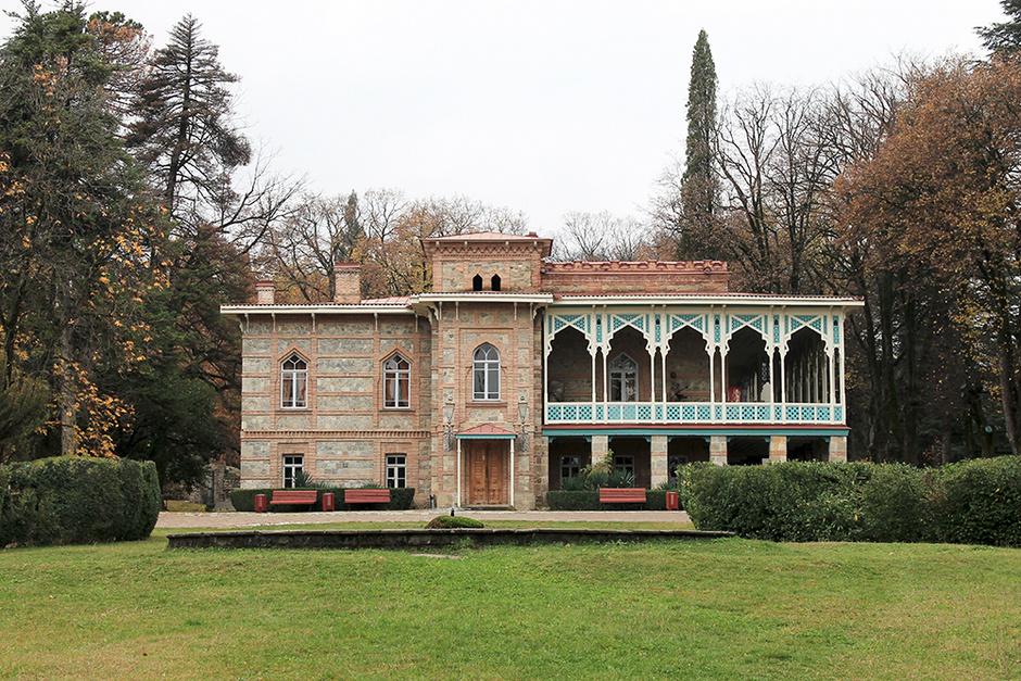 Родовое поместье князей Чав-чавадзе — усадьба в Цинандали Грузия
