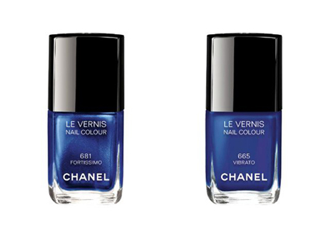 Лак для ногтей Le Vernis: № 665 Vibrato и № 681 Fortissimo