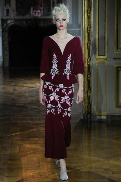 Показ Ulyana Sergeenko на Неделе высокой моды | галерея [1] фото [14]