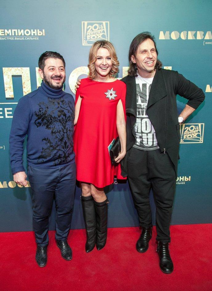 Михаил Галустян, Мария Кожевникова и Александр Ревва