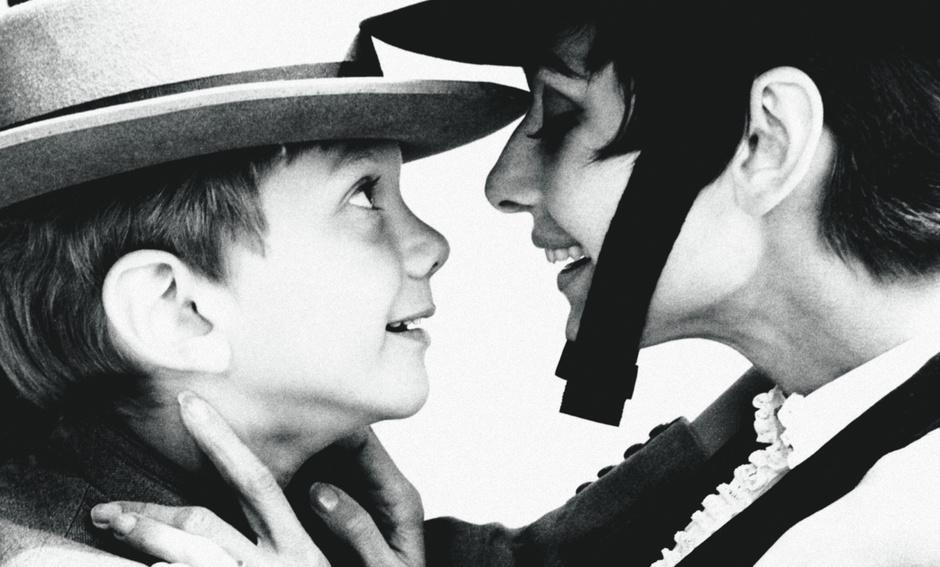 Актриса Одри Хепберн с сыном Шоном